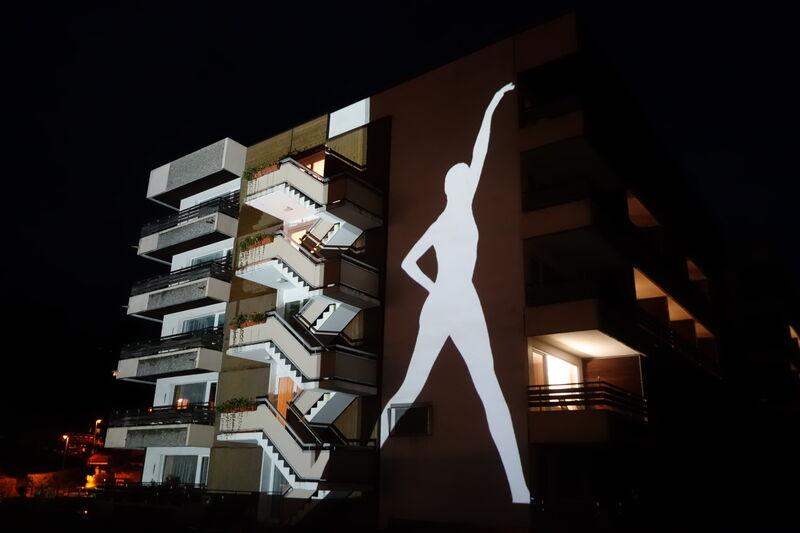 Künstler: Florian Bachmann / Marcus Pericin, Kunstwerk: Light Dancer, Fotograf: Marcus Pericin