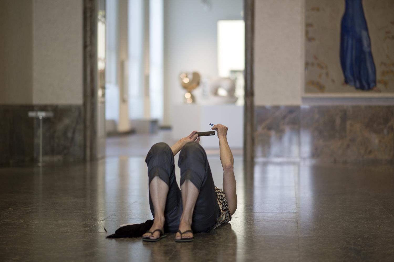 Migros Engagement: #Letsmuseeum, Kunsthaus Zürich, 16.08.2018. Rea Eggli, Jana Schiffmann, Lenny Staples, Carmen Siegenthaler.